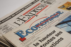 L'Express - experiences takes first steps on the web